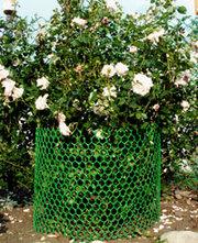 Пластиковые сетки: для поддержки тяжелых растений
