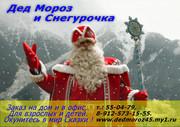 Праздничное агенство Дед Мороз и Снегурочка.