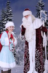 Дед Мороз и Снегурочка в Кургане