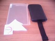 Продаю чехол кожаный  на  iPhone 4 и защитную пленку
