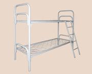 Железные армейские кровати оптом,  эконом вариант от производителя: для рабочих,  турбаз,  детского лагеря,  санатория
