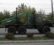 Продам Урал Лесовоз с гидроманипулятором